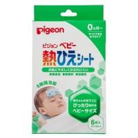 <日本製> [Pigeon] 嬰兒用退熱貼 6枚裝