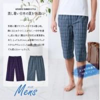 SUTETEKO<Long underpants Men Check>