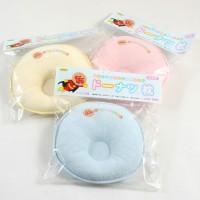 日本製 麵包超人甜甜圈枕頭(小)新生児〜
