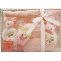 <日本製> [anano cafe] 嬰兒禮物套裝(兔子)