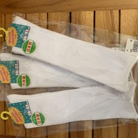 日本製学校白色襪子(長)