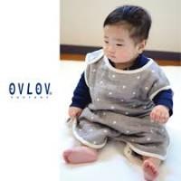 OVLOV 日本製 六重紗布睡袋 星夜