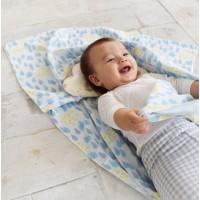 日本製 4用途 Cotton Gauze Baby Throw紗布被