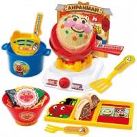 麵包超人炒飯和日式拉麵店玩具套DX
