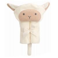 綿羊大毛巾連帽