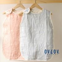 日本製 OVLOV 六重紗布睡袋 PEACE