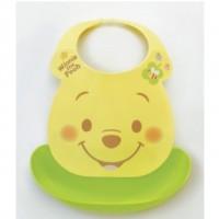 迪士尼膠質食物口水肩 [日本製] Pooh