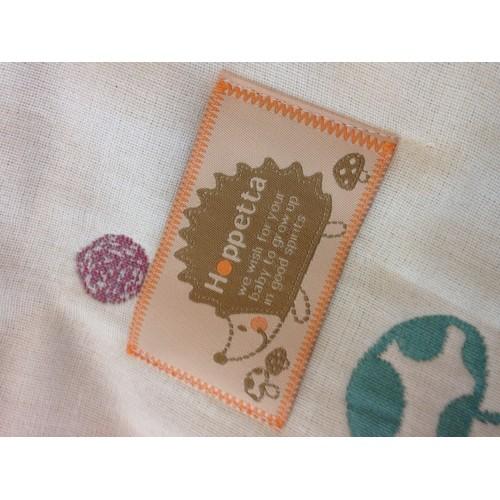 代購商品:Hoppetta 6重紗布被 蘑菇 140cm-200cm (大人用) 日本制