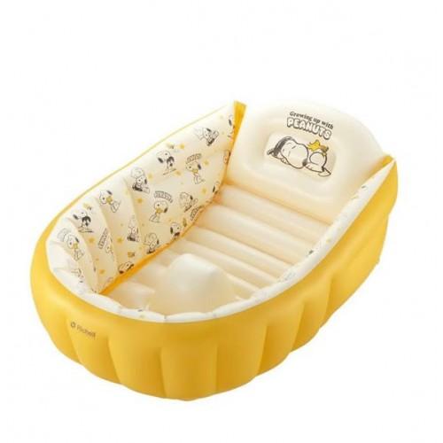 [Richell] Snnopy 嬰兒用充氣沐浴軟墊