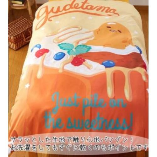 [Sarino] Gudetama 蛋黃哥 被單與枕頭套 150×210cm