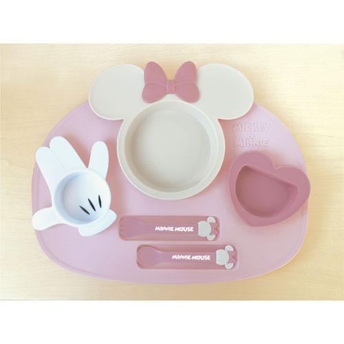 日本製DISNEY Minnie豪華餐具套