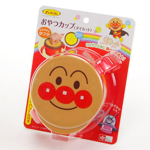 日本制 麵包超人 餅乾防跌盒子