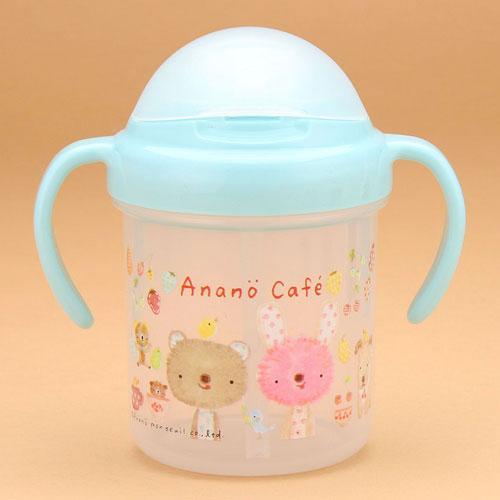 日本制 Anano cafe BB 藍色學習杯