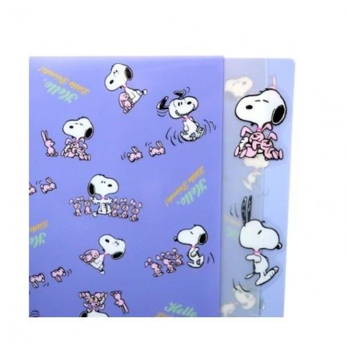 <日本製> Snoopy 5層 A4 file