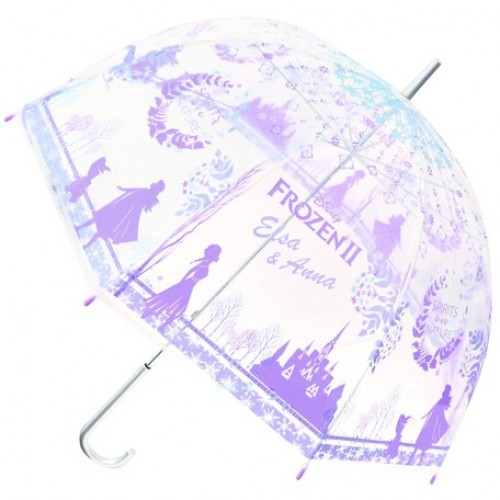 Disney 透明長雨傘