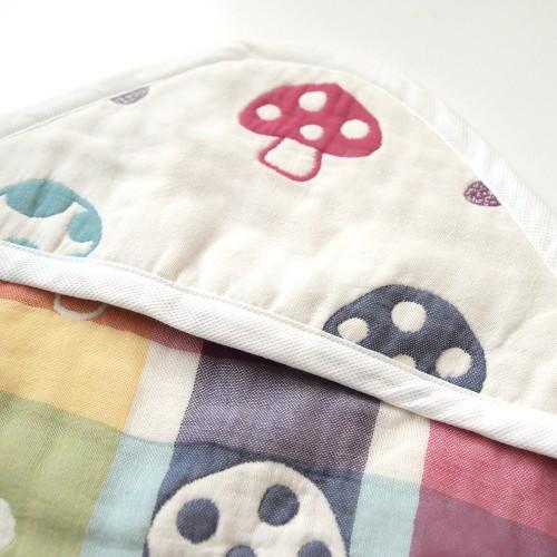 代購商品:Hoppetta 六重紗蘑菇包被 (方型)