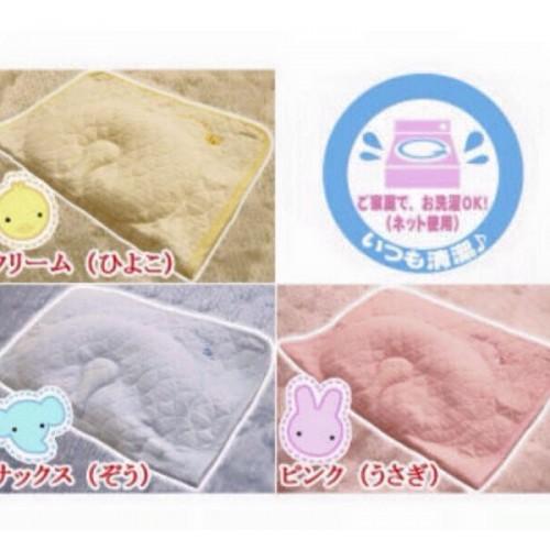 日本制 西川 Babypuff 伸手抱抱枕 粉紅色