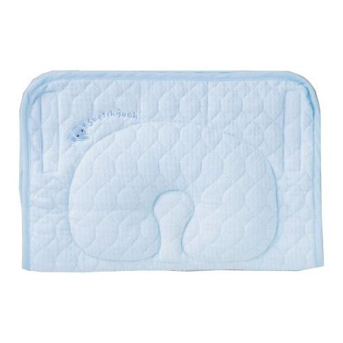 日本制 西川 Babypuff 伸手抱抱枕 藍色