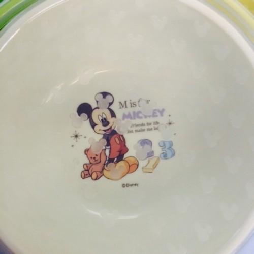 日本制 Disney Mickey BB碗子套裝